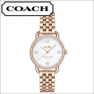 コーチ/レディース 時計(14502479)ホワイトシェル/ピンクゴールド/クリスタルベゼル|ryus-select
