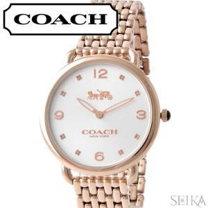 コーチ COACH  デランシー レディース 時計  【14502787】シルバー ピンクゴールド|ryus-select