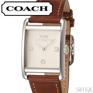5e9243101f コーチ COACH レンウィック レディース 時計 【14502829】アイボリー ブラウン レザー