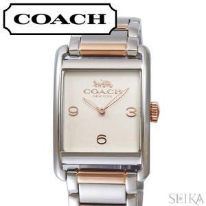 コーチ COACH レンウィック レディース 時計  【14502839】アイボリー シルバー×ローズゴールド|ryus-select