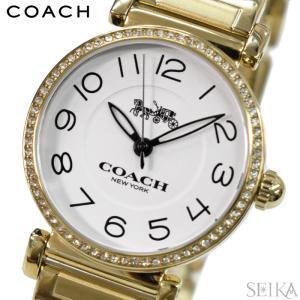 コーチ COACH マディゾン レディース 時計  【14502855】ホワイト ゴールド|ryus-select