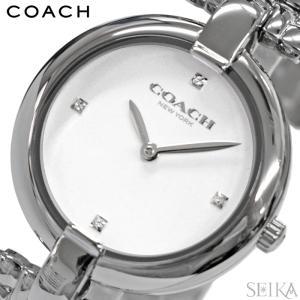 (5年保証) コーチ 時計 COACH 14503319 レディース 腕時計 ホワイト シルバー ギフト|ryus-select