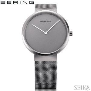 (レビューを書いて5年保証) 時計 ベーリング 14531-077 (30) 腕時計 レディース ガンメタ メッシュ|ryus-select