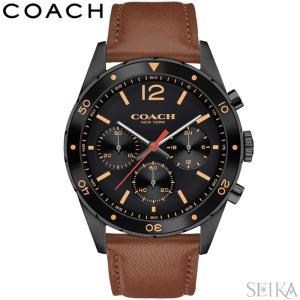 コーチ COACH 14602070時計 腕時計 メンズ ブラウン レザー|ryus-select