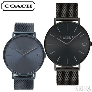 コーチ COACH チャールズ メンズ 時計  14602146 14602148 メッシュ|ryus-select