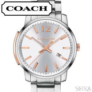 コーチ COACH ブリーカー デイト メンズ 時計【14602341】シルバー|ryus-select