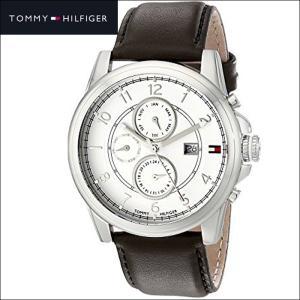 トミーヒルフィガー  1710294(161)時計 腕時計 メンズ ブラウン レザー|ryus-select
