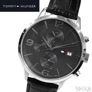 【商品入れ替えクリアランス】トミーヒルフィガー 1710361(149) メンズ 時計 腕時計  グレー ブラック ラバー|ryus-select