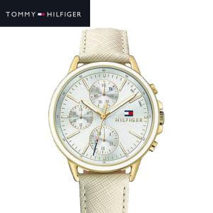 トミーヒルフィガー TOMMY HILFIGER 1781790 (216)時計 腕時計 レディース アイボリー レザー|ryus-select