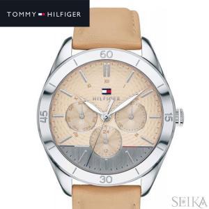 トミーヒルフィガー 1781886 (242)時計 腕時計 レディース ベージュ レザー|ryus-select