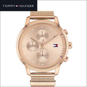 トミーヒルフィガー 1781907(186) レディース 時計 腕時計 ピンクゴールド メッシュ|ryus-select