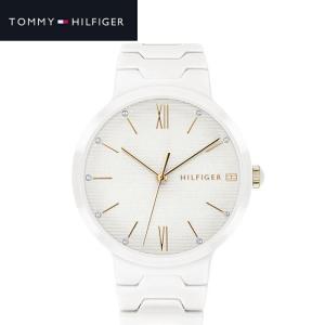 トミーヒルフィガー TOMMY HILFIGER 1781956 (214)時計 腕時計 レディース ホワイト セラミック|ryus-select