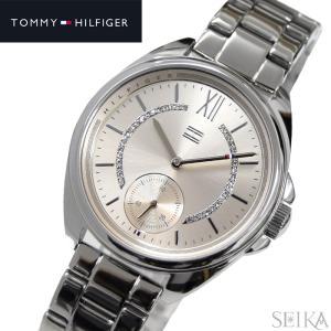 トミーヒルフィガー TOMMY HILFIGER 1781987(268)時計 腕時計 レディース シルバー ピンクゴールド ryus-select