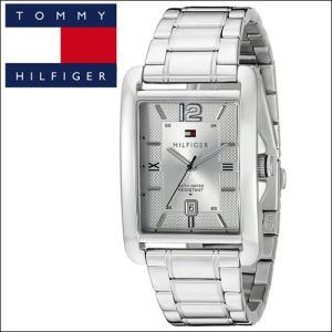(46) トミーヒルフィガー メンズ 時計 (1791201) シルバー スクエア|ryus-select