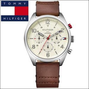 【67】 トミーヒルフィガー メンズ 時計 【1791208】ブラウンー レザー|ryus-select