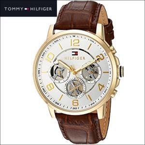 トミーヒルフィガー  1791291(167)時計 腕時計 メンズ ブラウン レザー|ryus-select