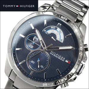 トミーヒルフィガー DECKER 1791348(139) メンズ 時計 腕時計 ネイビー シルバー|ryus-select