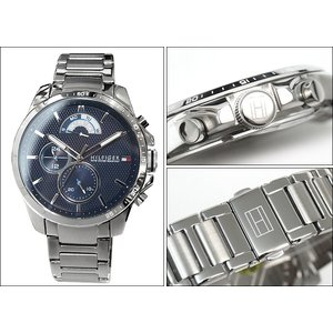 トミーヒルフィガー DECKER 1791348(139) メンズ 時計 腕時計 ネイビー シルバー ryus-select 02