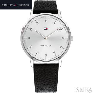 トミーヒルフィガー TOMMY HILFIGER 1791585(275) 腕時計 メンズ ブラック レザー ryus-select