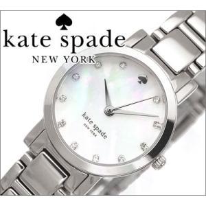 【当店ならお得クーポンあり】ケイトスペード レディース 腕時計【1YRU0146/シルバー】|ryus-select