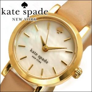 【当店ならお得クーポンあり】ケイトスペード レディース 腕時計 1YRU0372 ゴールド/ベージュ/レザー|ryus-select