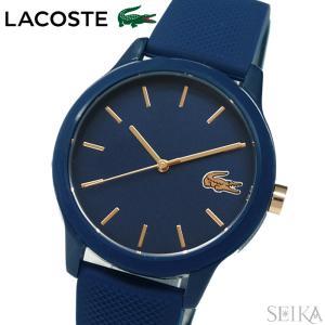 ラコステ LACOSTE 12.12 2001067(174)時計 腕時計 レディース ネイビー ラバー 青い腕時計|ryus-select