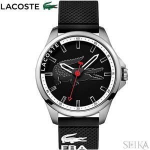 【当店ならお得クーポンあり】ラコステ LACOSTE 2010840(206) CAPBRETON時計 腕時計 メンズ ブラック ラバー|ryus-select