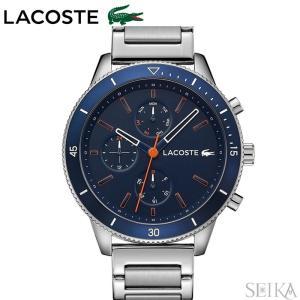 ラコステ LACOSTE 2010995 (130)時計 腕時計 メンズブルー シルバー|ryus-select