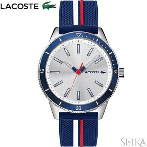 (サマークリアランス) ラコステ  2011006(199)腕時計 メンズ ブルー ラバー 青い腕時計|ryus-select