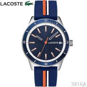 ラコステ  2011007(200)腕時計 メンズ ネイビー ラバー 青い腕時計|ryus-select