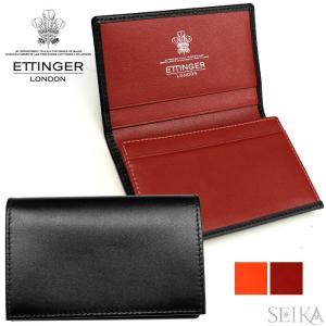 ETTINGER エッティンガー (24)ST143JR 名刺入れ カードケース STERLING メンズ ギフト (CPT)|ryus-select