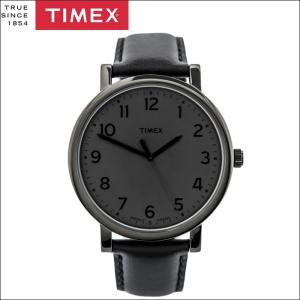 タイメックス TIMEX 時計 腕時計 メンズ  T2N346(39))ブラック レザー モダンイージーリーダー ryus-select