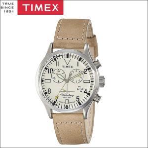 タイメックス TIMEX 時計 腕時計 メンズ  (TW2P84200(47))クリーム ベージュレザー ウォーターベリー ryus-select