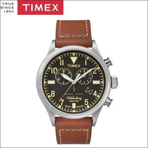タイメックス TIMEX 時計 腕時計 メンズ  (TW2P84300(48))ブラック ブラウンレザー ウォーターベリー ryus-select