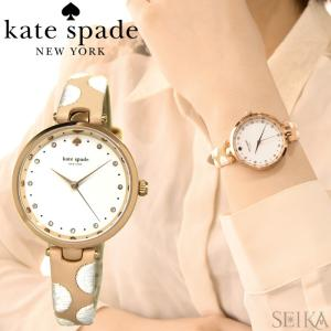 (レビューを書いて5年保証) ケイトスペード Kate spade (5)KSW1450 時計 腕時計 レディース レザー ピンクゴールド ホワイト|ryus-select