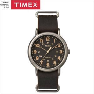 タイメックス TIMEX 時計 腕時計 メンズ  (TW2P85800(50))ブラウン レザー ウィークエンダー ryus-select