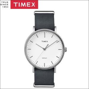 タイメックス TIMEX 時計 腕時計 メンズ  (TW2P91300(52))ホワイト グレーレザー ウィークエンダー ryus-select