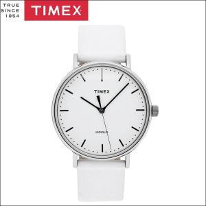 【クリアランス】タイメックス TIMEX 時計 メンズ 腕時計【TW2R26100(58)】ホワイト レザーウィークエンダー フェアフィールド ryus-select