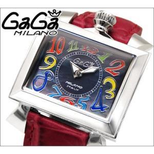 【商品入れ替えクリアランス】(特典付き) ガガミラノ GaGa MILANO 時計 腕時計 6030.2 メンズ|ryus-select