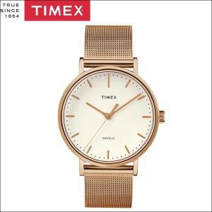 タイメックス TIMEX 時計 腕時計 メンズ  (TW2R26400(61))ピンクゴールド メッシュ ウィークエンダー フェアフィールド ryus-select