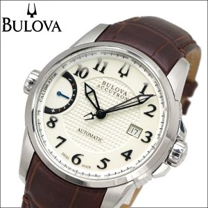 ブローバ BULOVA 63B160(4) 時計 腕時計 メンズ ブラウン レザー 自動巻き|ryus-select
