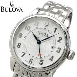 【商品入れ替えクリアランス】 ブローバ BULOVA 63B162(6) アキュトロン ジェミニ 時計 腕時計 メンズ シルバー 自動巻き|ryus-select
