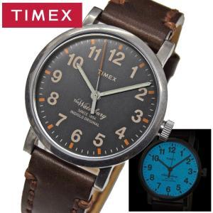 タイメックス TIMEX 時計 メンズ 腕時計【TW2P58700(72)】グレー ダークブラウン ウォーターベリー コレクション ryus-select