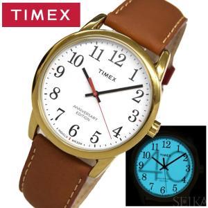 タイメックス TIMEX 時計 メンズ 腕時計 TW2R40100(75) ホワイト ブラウン TIMEX40周年記念モデル ryus-select