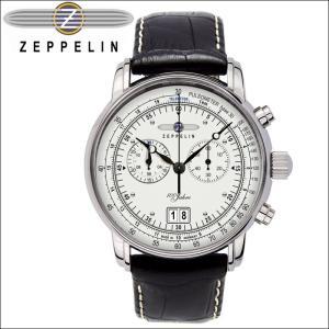 【当店ならお得クーポンあり】ツェッペリン ZEPPELIN7690-1 時計 腕時計 メンズシルバー ブラック レザー ryus-select