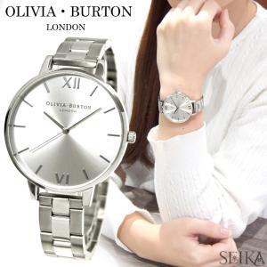 (サマークリアランス) オリビアバートン (96)OB15BL22 時計 腕時計 レディース 38mm シルバー|ryus-select