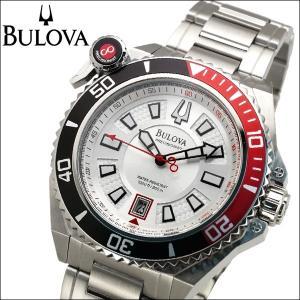 ブローバ BULOVA 98B167(5)プレシジョニスト キャタマウント時計 腕時計 メンズ シルバー【30気圧防水】【300M防水】|ryus-select