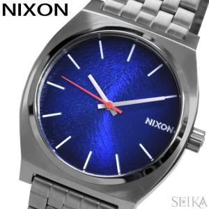 ニクソン NIXON タイムテラー A045-2660ブルー シルバー メンズ レディース 腕時計 ...