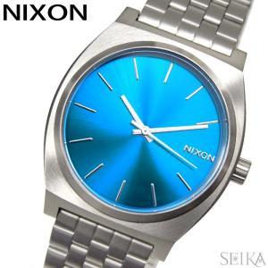 NIXON ニクソン タイムテラー A045-2797時計 腕時計 メンズ レディース ユニセックス A0452797-00 青い腕時計|ryus-select