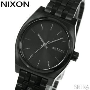 時計 ニクソン NIXON ミディアムタイムテラーA1130-001 腕時計 レディースオールブラッ...
